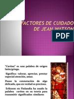 Copia (2) de Factores de Cuidado de Watson