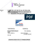 Project Report by Komal Jhanwar on Mutual Fund[1]
