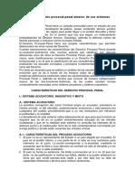 Modelos Del Derecho Procesal Penal Atravez de Sus Sistemas Procesales