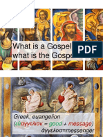 Gospel, Gospels, and Marks Gospel.pptx