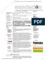 Construcción y evaluación de consignas para evaluar la escritura como competencia para la vida _ Atorresi _ Enunciación.pdf