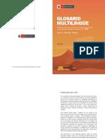 Glosario Multilingue