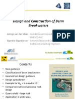 Berm Breakwaters