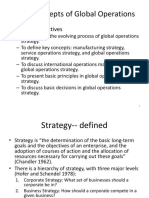 Lecture 2 Basic Concepts of Global Operations