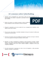 10 Consejos Sobre Cyberbulling