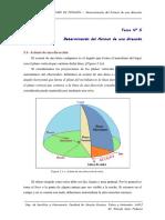 Tema 5 - Determinación Del Acimut de Una Dirección