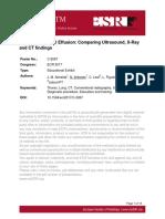 Almeida JM, Antunes N, Leal C, Figueiredo L, LisboaPT. Imaging of Pleural Effusion Comparing Ultrasound, X-Ray and CT Findings. ESR (European Society o