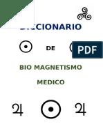 DICCIONARIO BIOMAGNETISMO