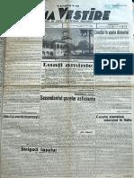 Buna Vestire anul I, nr. 85, 6 iunie 1937
