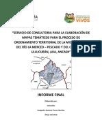Estudio de Mapas Temáticos del Distrito de La Merced, Provincia de Aija, Ancash - Perú