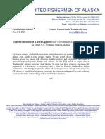 UFA press release on FDA action
