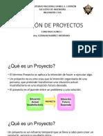 Clase 01 - Gestión de Proyectos