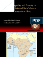 Income Inequality and Poverty in South East Asia