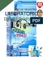 Cuaderno de Registro Laboratorio