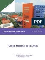 Catalogo de Servicios CENART 2018