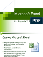 Introduccion a Microsoft Excel