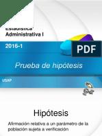 109 Prueba de Hipotesis