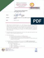 Berf Commencement..Regional Memorandum No. 149 s.2019