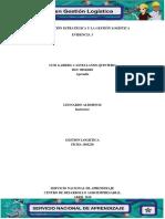 Evidencia 3 La Planeación Estrategica y La Gestion Logistica