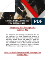 All You Need to Know About TSS 482 Visa