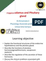 Hypothalamus and Pituitary Gland