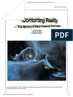 Contorting Reality - The Mystery of Black Holes and Wormholes