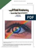 Spiritual Awakening - Some Major Signs and Symptoms
