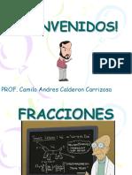 Conceptos de Fracciones