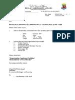 Surat Panggilan Mesyuarat JK - Contoh