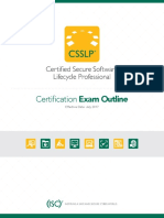 CSSLP Exam Outline-V1013