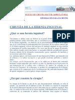 Cirugia de La Hernia [1]