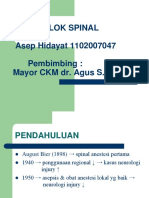 Blok Spinal