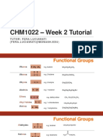 CHM1022 – Week 2 Tutorial