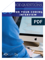 50 Coding Interview Questions
