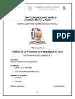 Voltmetro Digital LCD