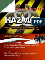 Hazardous Materials (Hazmat)