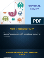 Refferal Policy