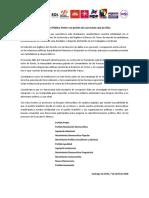 Declaración FA Sobre Prisión Lula Da Silva