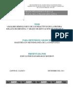 ANÁLISIS SEMIOLÓGICO DE LOS REACTIVOS DE LA PRUEBA ENLACE DE ESPAÑOL 1° GRADO DE EDUCACIÓN SECUNDARIA.pdf