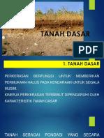 Ttm-2. Tanah Dasar