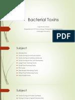 Bacterial Toxins