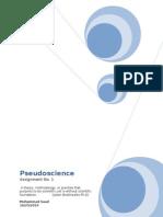 Pseudoscience Asngt1