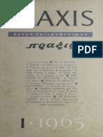 Praxis, international edition, 1965, no. 1.pdf
