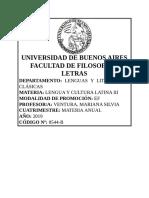 Latín III 2019 - Ventura