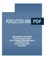 Computing for Population Projection and Trends