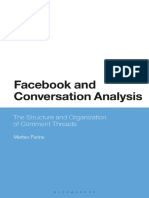 Facebook and Conversation Analysis
