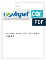 Manual de Ejecucion de Aspel Coi 7