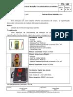 Cti - 183 Instrumentos de Medição Utilizados Nos Elevadores