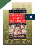 Astrología Y Sales Bioquímicas, Las Sales De Schüssler