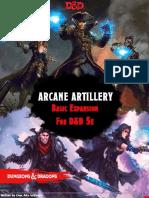 Arcane Artillery Basic